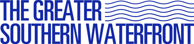 the greater southern waterfront logo